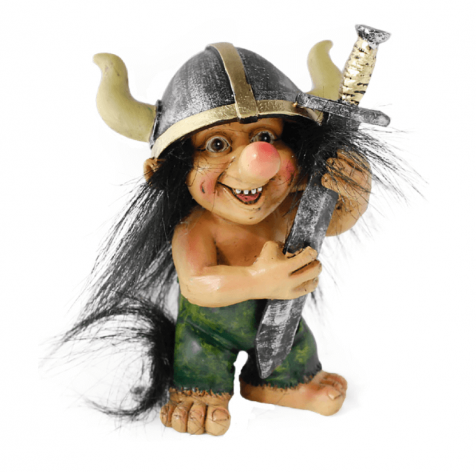 Viking Troll with sword