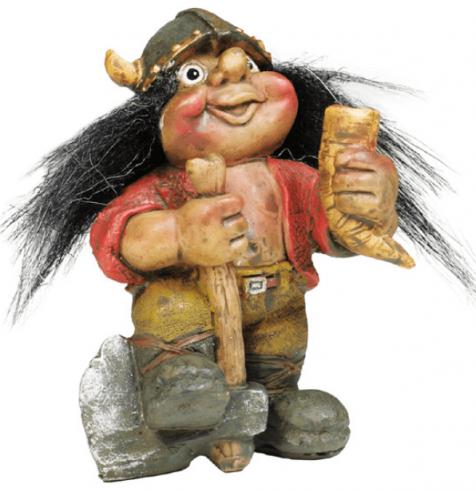 Viking that drinks